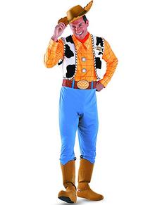 Woody Kostüm aus Toy Story für Erwachsene Deluxe