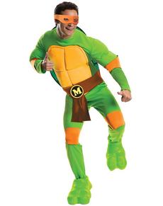 Mikey Kostüm für Herren Ninja Turtles