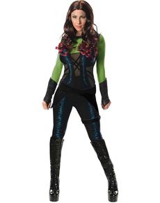 Gamora Kostüm für Damen deluxe Guardians of the Galaxy
