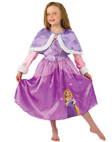 Aurora Rapunzel Kostüm für Mädchen